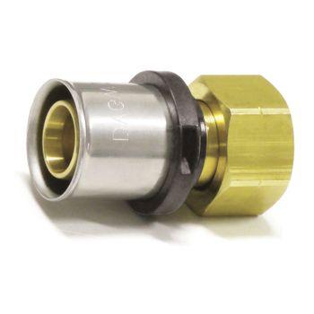 Pressfitting Verschraubung Übergang 16x2 mm 3/4 Zoll IG TH Kontur – Bild $_i