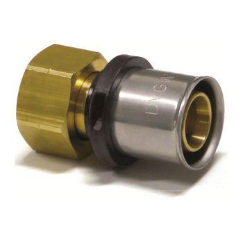 Pressfitting Verschraubung Übergang 32x3 mm 1 1/2 Zoll IG TH Kontur – Bild $_i