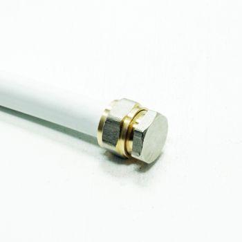 Pipetec Schraubfitting Stopfen 26x3 mm Endkappe Mehrschichtverbundrohr – Bild $_i