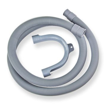 Ablaufschlauch Wasserschlauch 3,5m 19/22mm Waschmaschine Bogen Abfluss Schlauch – Bild $_i