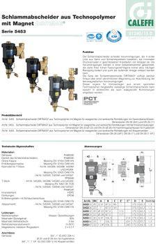 "Schlammabscheider 1"" Magnet Heizung Magnetfilter drehbar – Bild $_i"