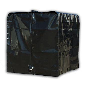 Abdeckplane / Haube / Plane für IBC Container 1000l Tank Behälter – Bild $_i
