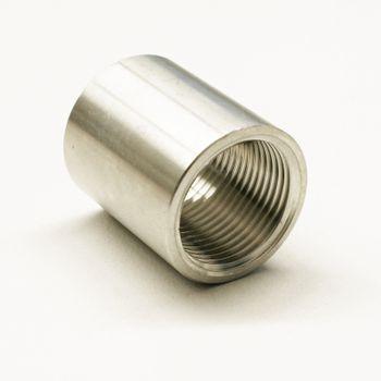"Edelstahl Fitting Muffe 1/2"" Zoll V2A Gewindefitting – Bild $_i"