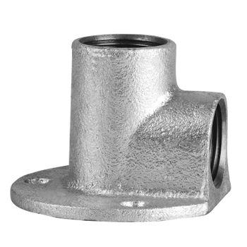Edelstahl Fitting Deckenwinkel 1/2 Zoll 90° Gewindefitting – Bild $_i