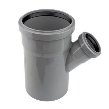 20x HT Abzweig DN110/50/45° HTEA Abflussrohr Abwasserrohr – Bild $_i