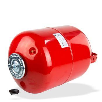 Ausdehnungsgefäß 50L Ausgleichsbehälter rot stehend Heizung – Bild $_i