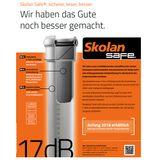 Skolan dB Safe Rohr DN110 x 1000mm schallgedämmtes Abwasserrohr