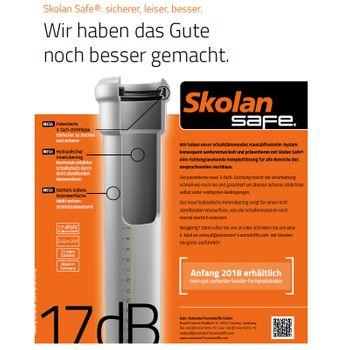 Skolan dB Safe Bogen DN110/87° schallgedämmtes Abwasserrohr – Bild $_i
