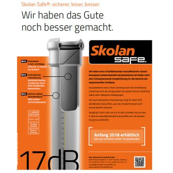 Skolan dB Safe Reduktion DN78 auf HT-Rohr DN50 Abwasserrohr – Bild $_i