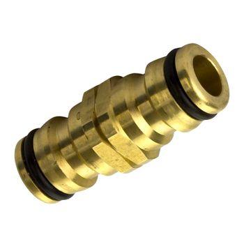 Verbindungsstück Messing Schlauchverbinder Steckkupplung – Bild $_i