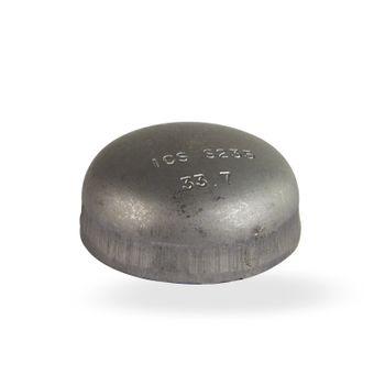 Klöpperboden 2 Zoll 60,3 mm DN50 Blindkappe schwarz – Bild $_i