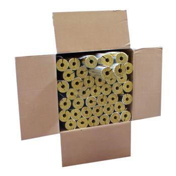 Karton 30m Steinwolle Rohrschale alukaschiert 28x20 mm – Bild $_i