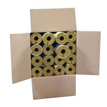 Karton 16m Steinwolle Rohrschale alukaschiert 35x30 mm – Bild $_i