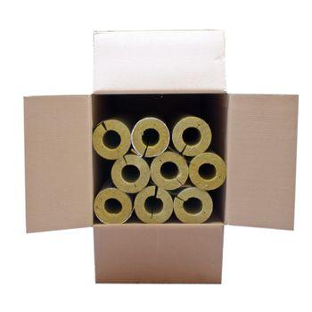 Karton 9m Steinwolle Rohrschale alukaschiert 54x30 mm – Bild $_i