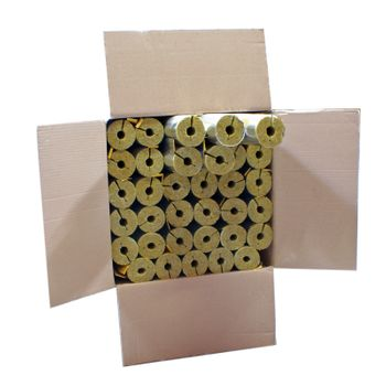 Karton 56m Steinwolle Rohrschale alukaschiert 15x15 mm 50% EnEV – Bild $_i