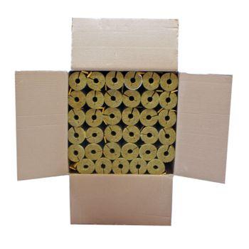 Karton 52m Steinwolle Rohrschale alukaschiert 18x15 mm 50% EnEV – Bild $_i