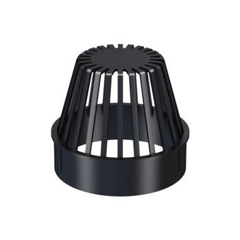Klöber Flachdach Laubfang DN 100 Hart PVC für Dachablauf – Bild $_i