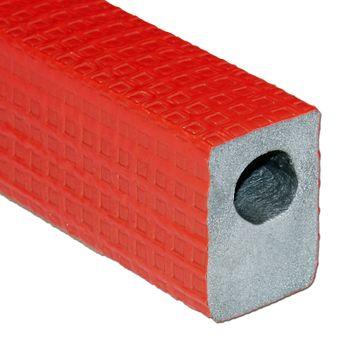 Austroflex Dämmhülse 18 x 25 mm 2m 100% EnEV rot Fußboden Rohrisolierung