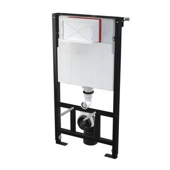 WC Vorwand Element Trockenbau Ständerwand Höhe 98 cm – Bild $_i