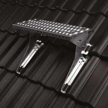 Klöber Trapac Laufrostset 80cm verzinkt für Dachsteine und Tonziegel – Bild $_i