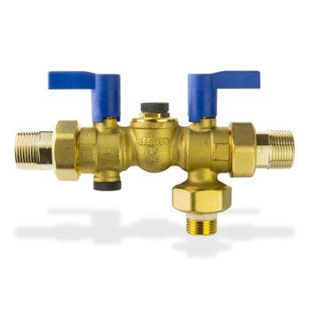 Sicherheitsgruppe DN20 8 bar 3/4 Zoll Warmwasser Bereiter DVGW – Bild $_i
