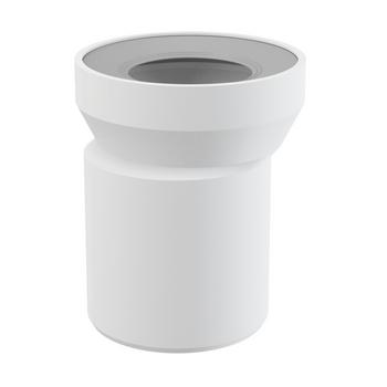 WC Anschlussstutzen 158 mm exzentrisch für WC Montageelemente – Bild $_i