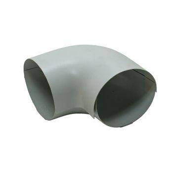 PVC Außenbogen 60-50 zu Steinwolle Isolierung – Bild $_i