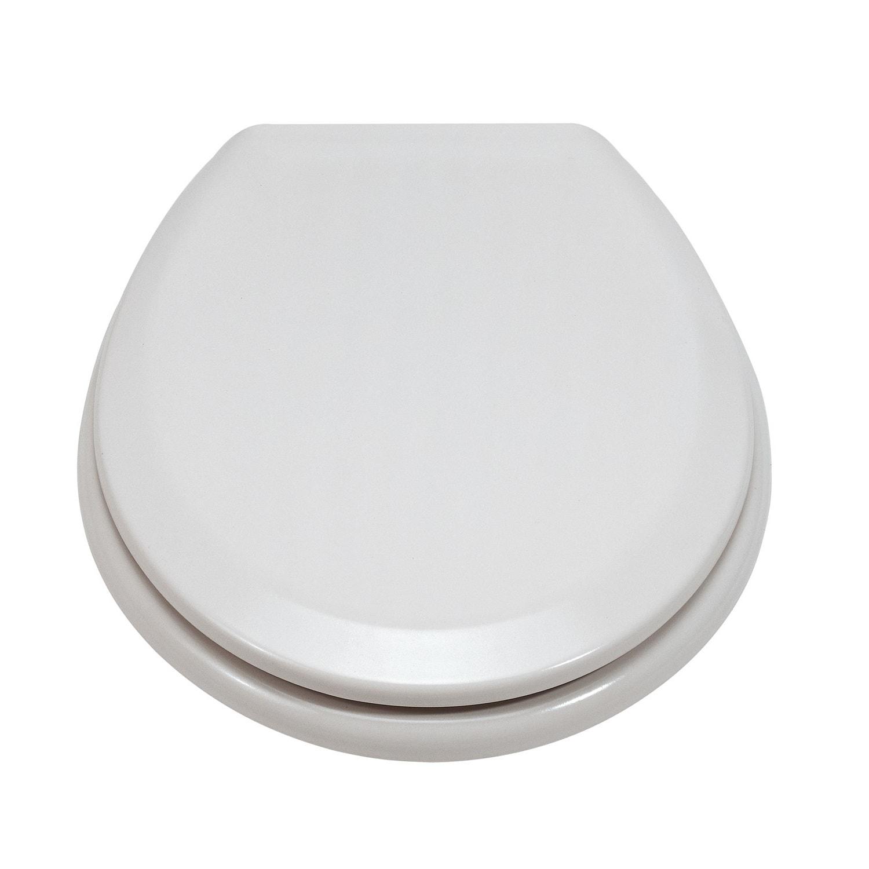 eisl duroplast wc sitz wei toilettendeckel klo brille klo deckel toilettensitz ebay. Black Bedroom Furniture Sets. Home Design Ideas