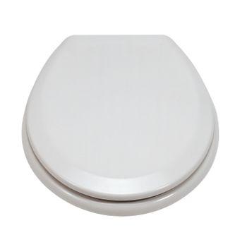 Duroplast ED19010 WC-Sitz weiss mit Edelstahlscharniere – Bild $_i