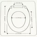 Duroplast ED29010 WC-Sitz weiss mit Absenkautomatik