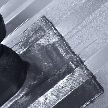Blechdach Dachdurchführung 315 x 330 mm Manschette grau – Bild $_i