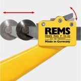 Rems RAS P Rohrabschneider 10 - 63 mm Rohrschneider für Kunststoffrohre