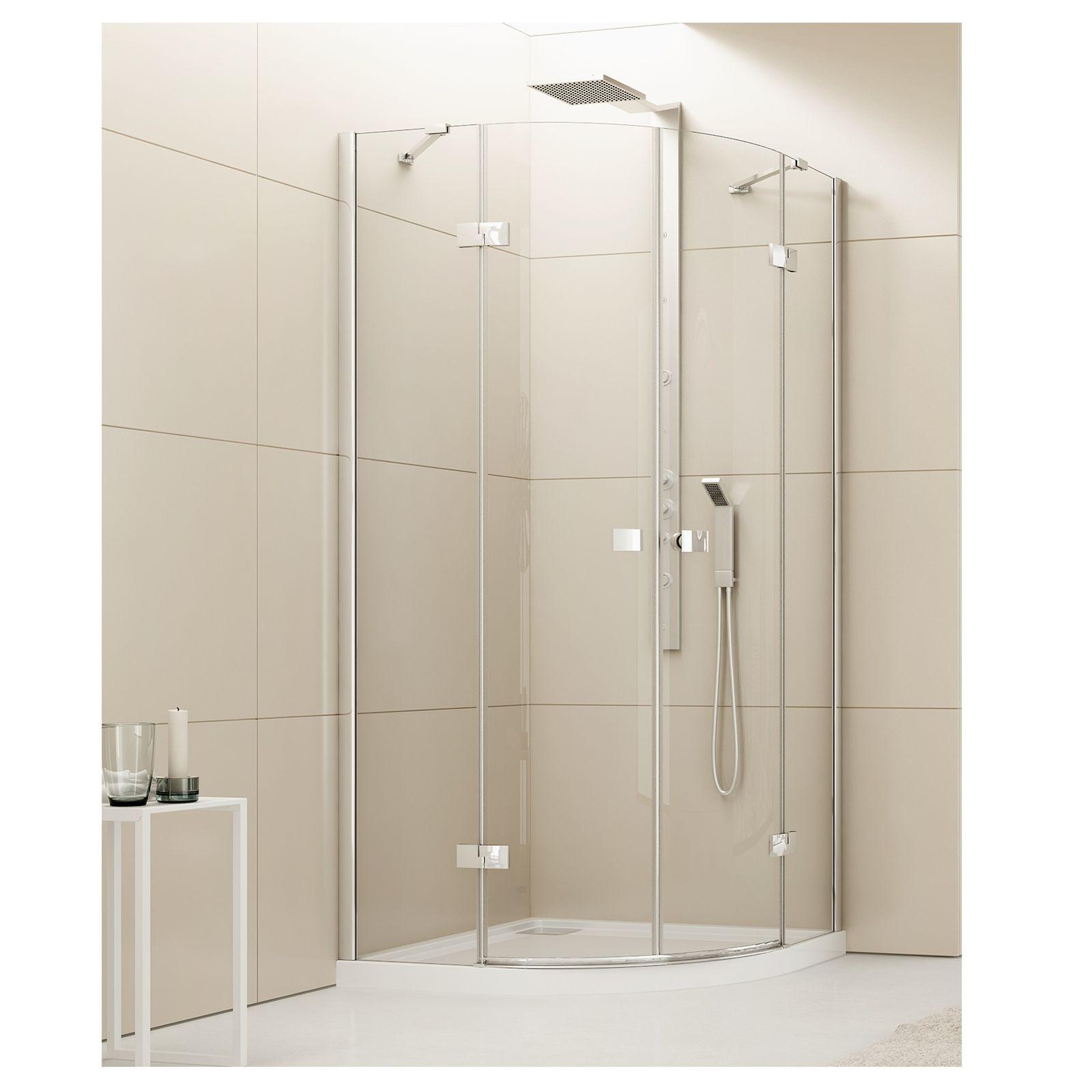 lido r55 fussboden duschwanne 80x80x6 cm halbrund. Black Bedroom Furniture Sets. Home Design Ideas