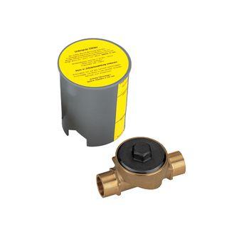 Unterputz-Gehäuse 1/2  und 3/4  IG für Unterputz-Koaxzähler