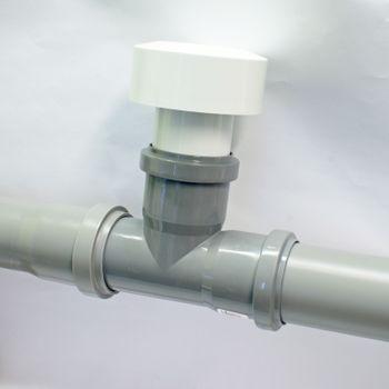 Belüftungsventil DN40 Rohrbelüfter für Siphon Sifon – Bild $_i