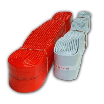 PE Isolierschlauch DN100 10m Schutzschlauch rot – Bild $_i