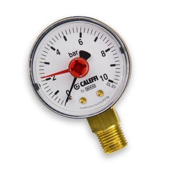 """Kunststoff Manometer 1/4"""" Zoll Anschluss unten – Bild $_i"""