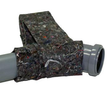 Rolle Vlies Isolierstreifen 70 mm Wickelvlies mit Dampfsperre – Bild $_i