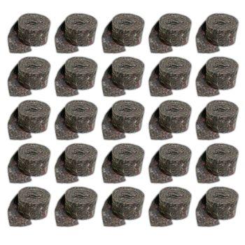 25x Rollen Vlies Isolierstreifen 70 x 2 mm mit Dampfsperre – Bild $_i