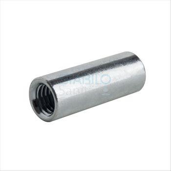 100x Gewindemuffen M10 x 30 mm Distanzmuffe Stahl verzinkt – Bild $_i