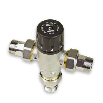 Thermomischer 3/4 Zoll Brauchwassermischer Mischventil – Bild $_i
