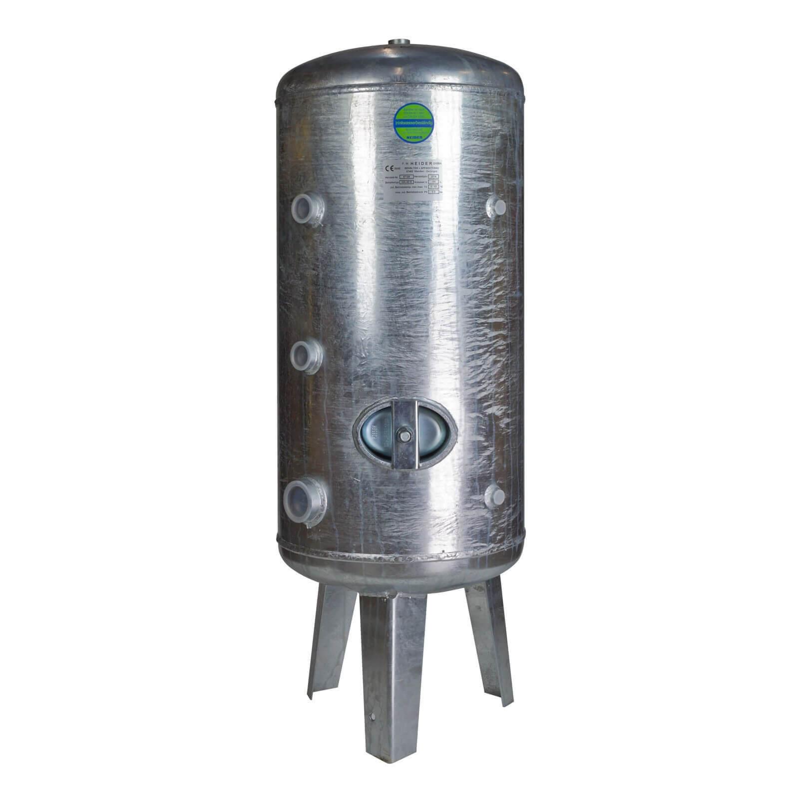 druckbehälter druckkessel 150l 6bar verzinkt für wasser