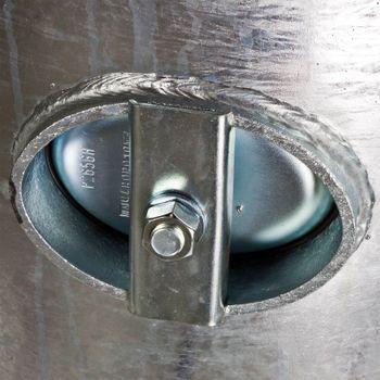 Druckbehälter Druckkessel 150L 6bar verzinkt für Wasser – Bild $_i