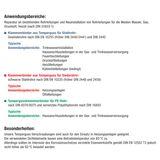 Temperguss Klemmverbinder 1 Zoll IG x 33,7 mm Stahlrohr