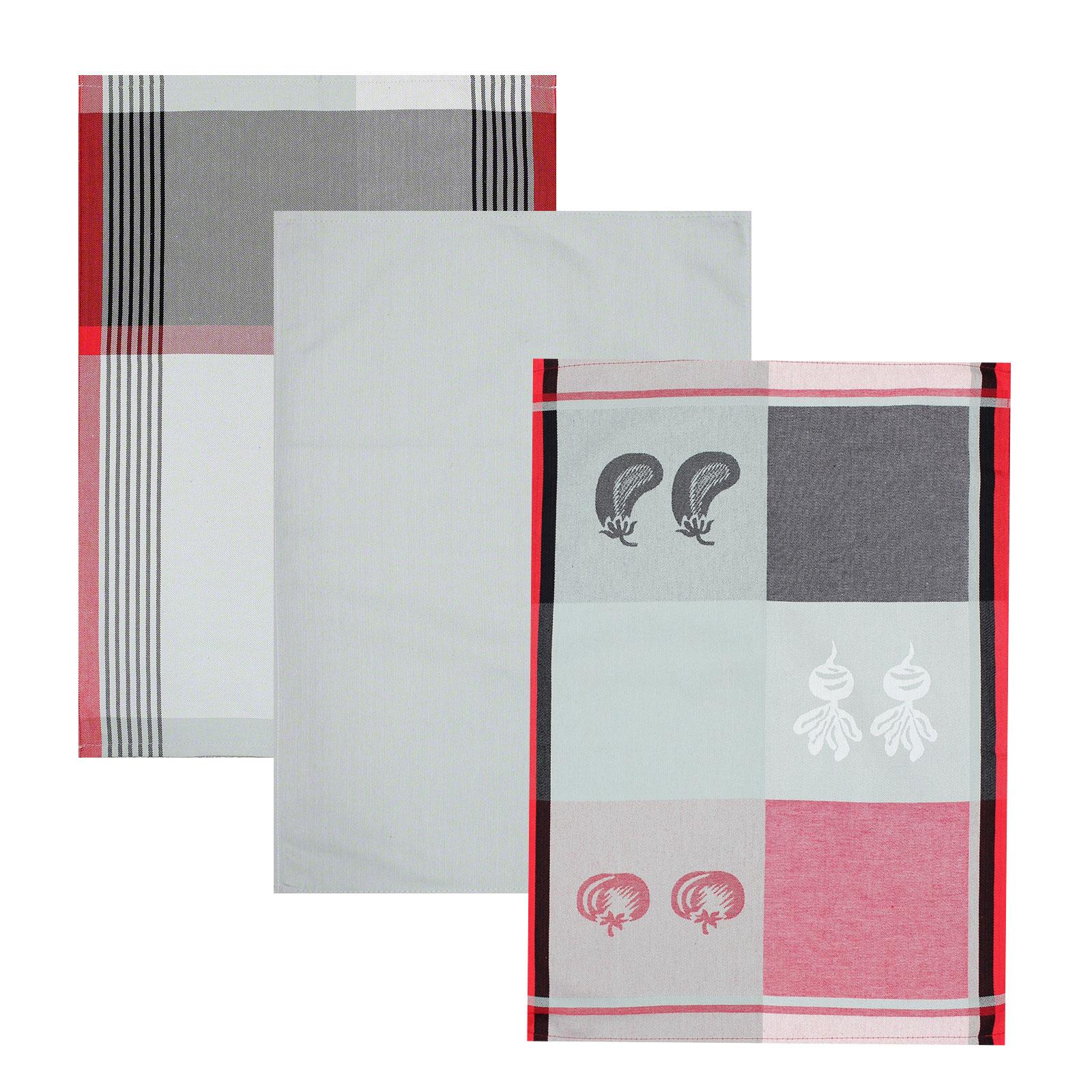 3er set geschirrt cher 50x70 cm baumwolle rot. Black Bedroom Furniture Sets. Home Design Ideas