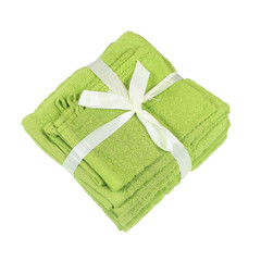 10 tlg. Frottier Handtuch Set 100% Baumwolle verschiedene Farben  – Bild 19