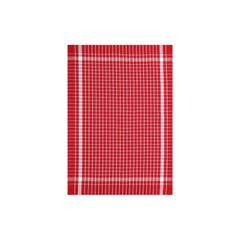 Geschirrtuch Baumwolle 45x70 cm 1er 3er oder 6 Set Rot – Bild 1