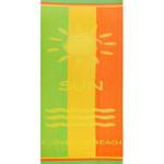Strandtuch 86x160 cm Frottier I Love the Beach 001