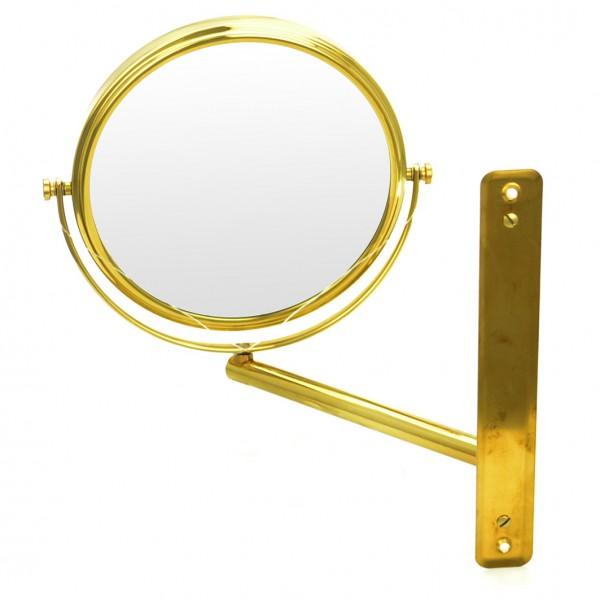 Wand-Kosmetikspiegel, Ø 19cm, 3-fach, höhenverstellbar – Bild 3