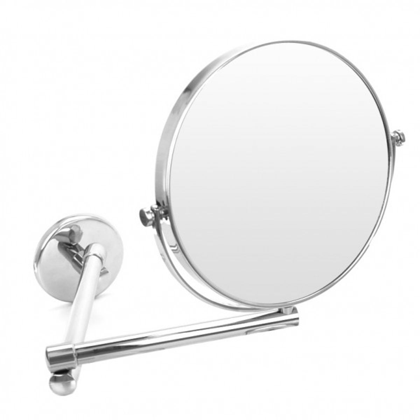 Wand-Kosmetikspiegel, Ø 19cm, 3-fach – Bild 1